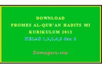 download promes al-qur'an hadits mi kurikulum 2013