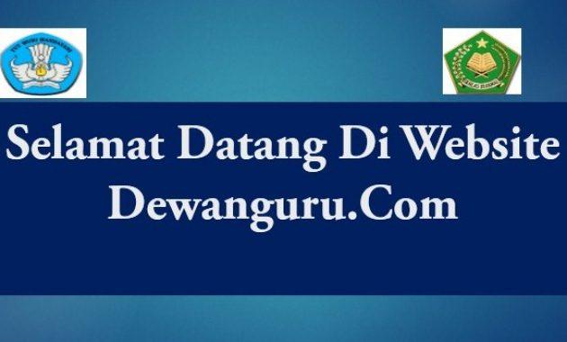 selamat datang di website dewanguru.com