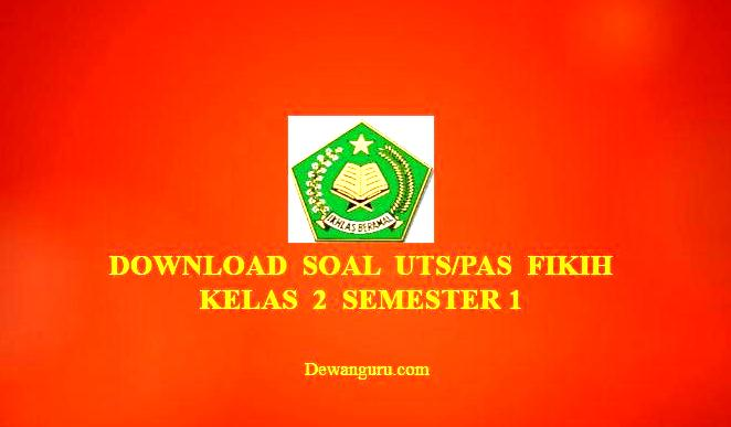 Download Soal Fikih Mi Kelas 2 Semester 1 Dewanguru Com