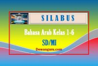 download silabus bahasa arab kelas 1-6