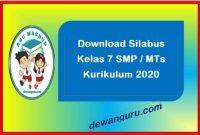 download silabus kelas 7 smp-mts