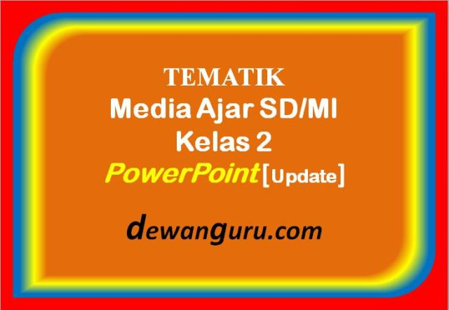 media ajar sd/mi kelas 2 powerpoint [update]