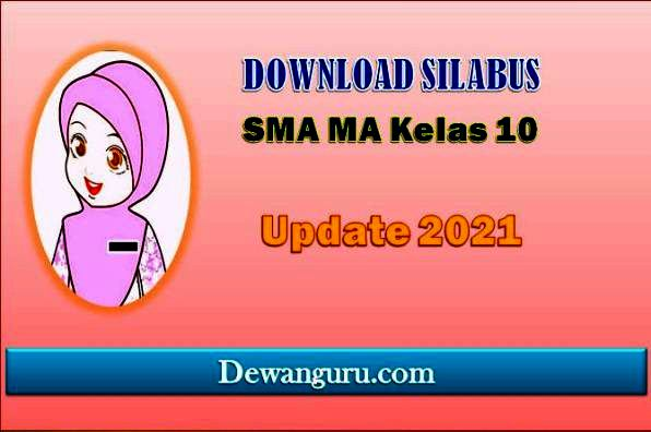 download silabus SMA MA kelas 10 update 2021