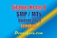 silabus kelas 8 smp mts update 2021 lengkap