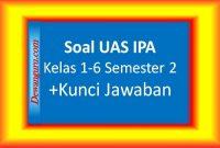 Soal UAS IPA Kelas 1-6 Semester 2 + Kunci Jawaban