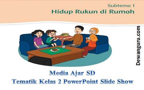 Materi ajar sd tematik kelas 2 powerpoint slide show